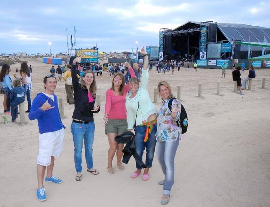 Surfsoulution Fuerteventura: Party time at the local beach festival...