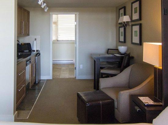 The Oswego Hotel: Living area