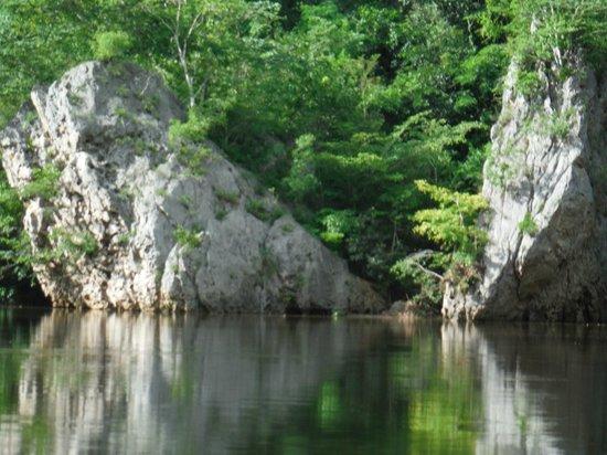 duPlooy's Jungle Lodge: Makal river