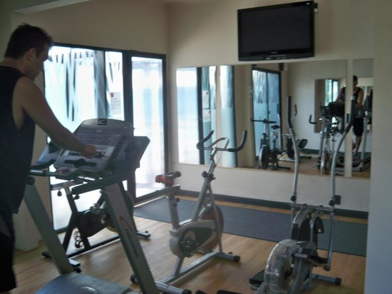 Hotel Rex: gym
