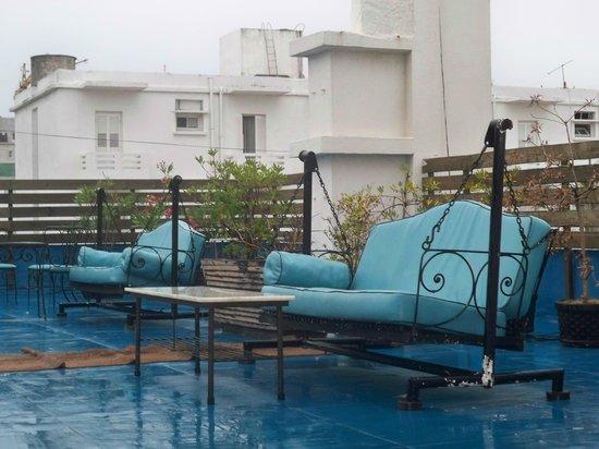 Hotel Rex: terraza