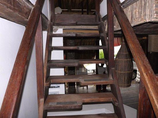 Kohsamui : escada para o apartamento - um pé por vez