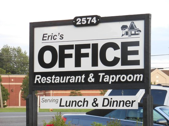 eric s office picture of eric s office restaurant canandaigua