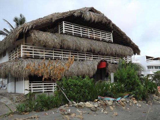 Kohsamui Hotel De Mar : hotel visto da praia