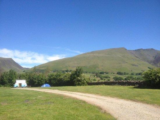 Burns Farm Caravan & Campsite: Location
