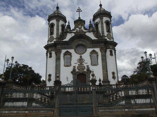 Igreja de São Francisco de Assis: frente da igreja