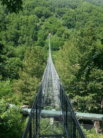Ponte Sospeso di San Marcello Pistoiese: Hangbrug