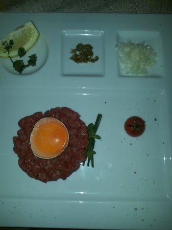 Osteria Marascia : carne cruda