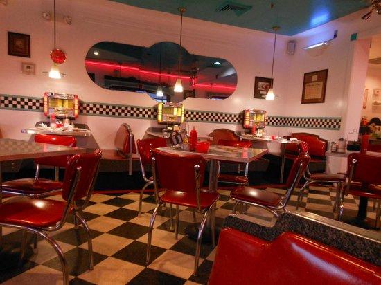 B Ville Diner Inside