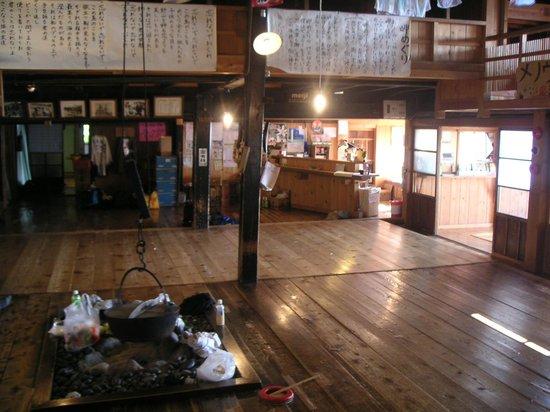 Momoiwaso Youth Hostel : 桃岩荘(囲炉裏の間)