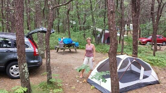 Dunes' Edge Campground: spot # 72