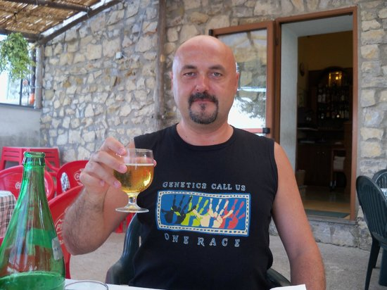 Ristorante IL Panorama  & C. Snc: Buena cerveza nacional