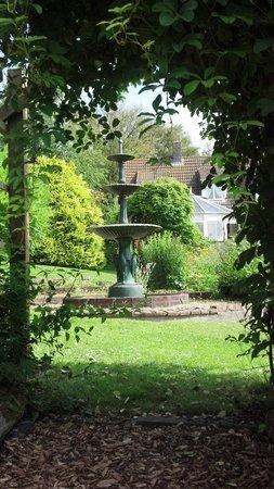 West Ower B&B: I'd go back just to relax in the garden.