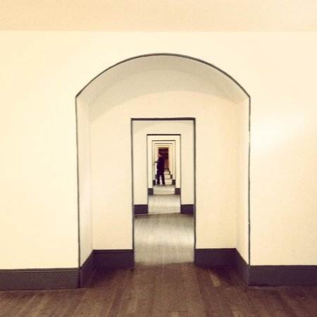 Fort Point National Historic Site: Awesome Hallway