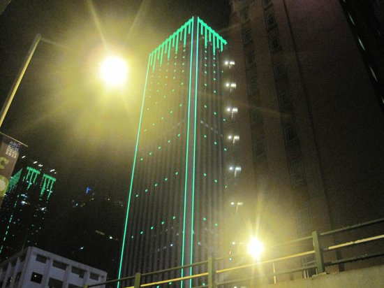The Fleming, Hong Kong: The Fleming Hotel at night