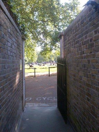 The Stafford London: Passagem direta para o Green Park