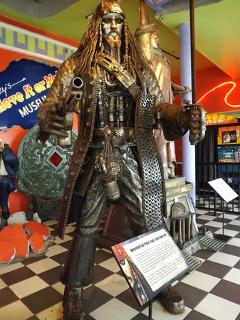 Ripley's Believe It or Not: Car parts Jack Sparrow