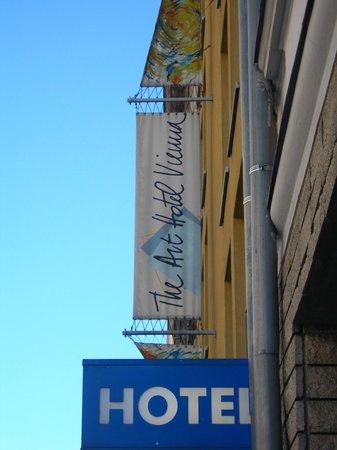 The Art Hotel Vienna: Hotel banners