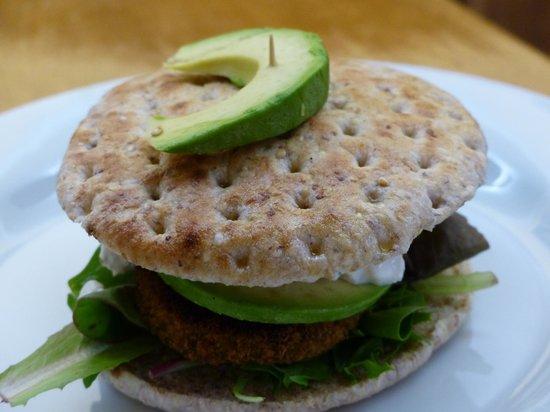 Rose and Griffon: Veggie burger
