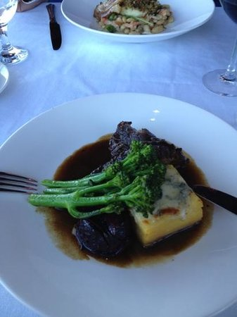 Wheelhouse Restaurant: braised bison short ribs