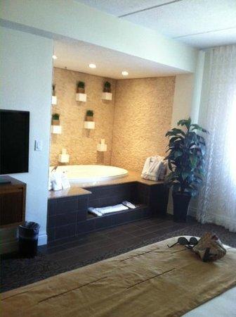 Mesquite, نيفادا: jacuzzi tub in room