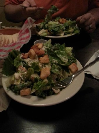 C J Maggie's American Grill: The Huge Salad