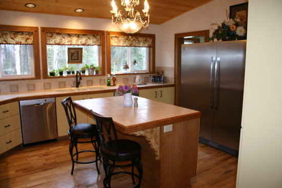 Maria's Creekside B&B : Maria's Kitchen