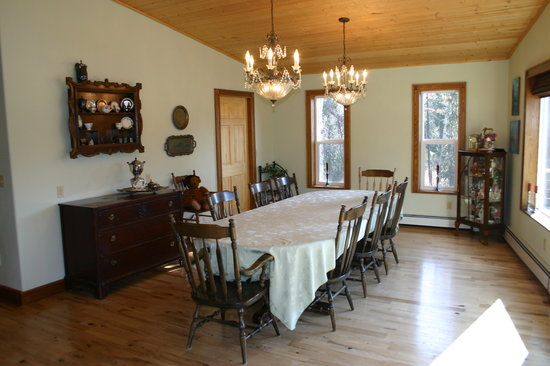 Maria's Creekside B&B : Maria's Dining Room
