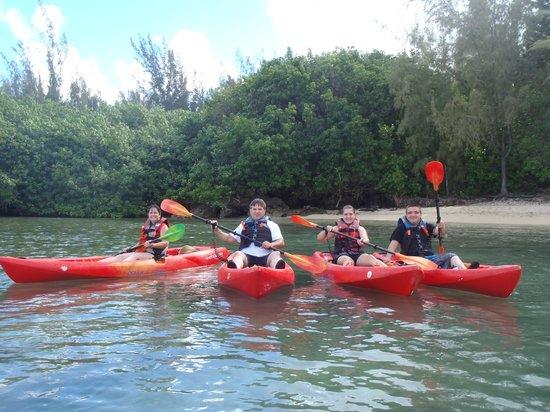 Shaka Kayaks: Family kayaking