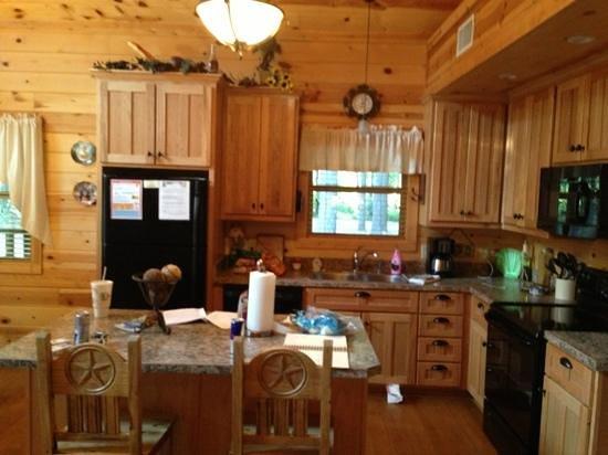 our kitchen in Linger Longer