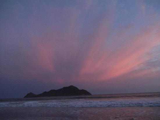 The Inn at Mazatlan : puesta de sol