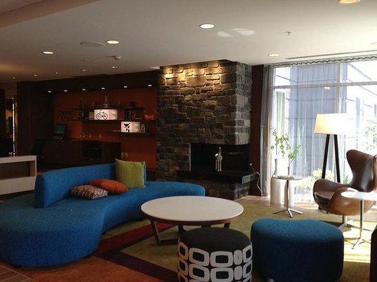 Fairfield Inn & Suites Hershey Chocolate Avenue: lobby