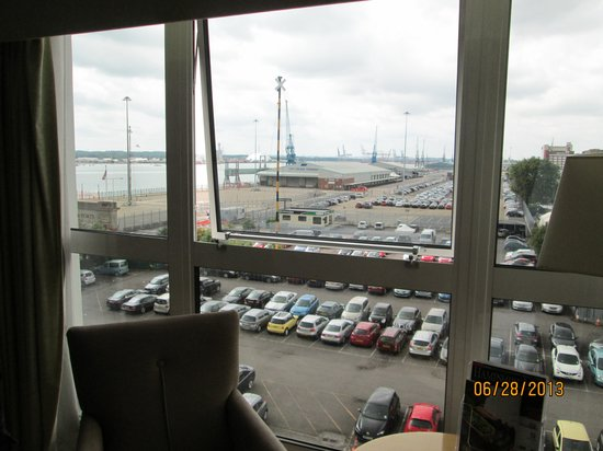 Holiday Inn Southampton: View from room 411