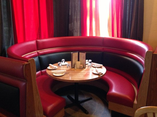 New Round Booth Picture Of Casa Nova Ristorante Shelton TripAdvisor - Round booth table