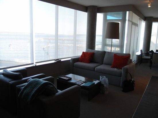 The Sidney Pier Hotel & Spa : Lounge area