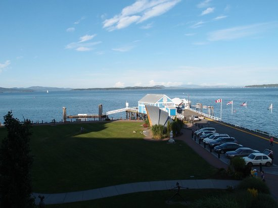 The Sidney Pier Hotel & Spa: View from room looking straight ahead