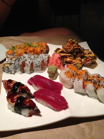 Hot Tuna: Great sushi