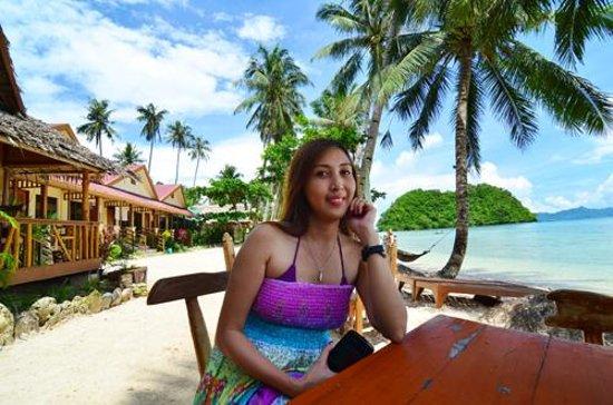 Orange Pearl Beach Resort: Front view if the Resort
