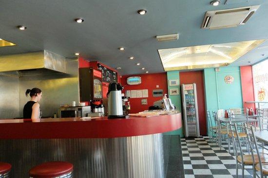The Warsaw Diner interior