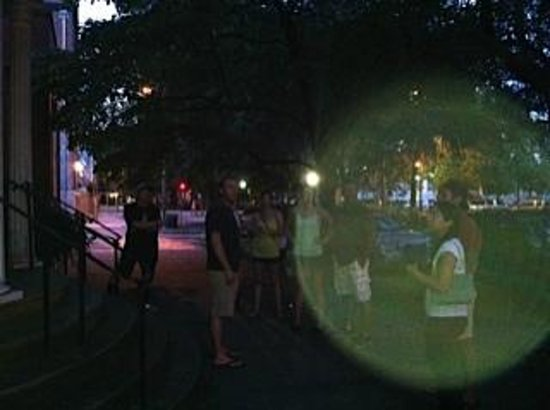 Southern Strolls Walking Tours : Ghost orb around us
