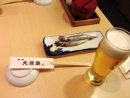 Sushitairyoki: ビールはサントリー