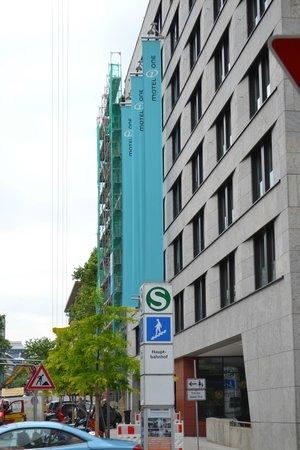 Motel One Stuttgart-Hauptbahnhof: Outside of the Hotel