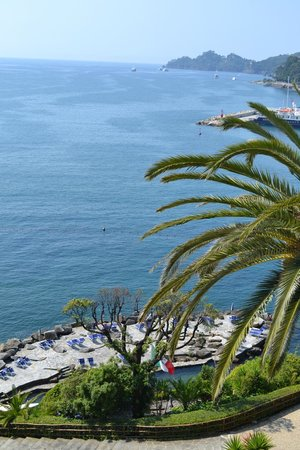 Hotel Continental: view from our balcony
