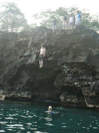 Puako, HI: クリフジャンプ