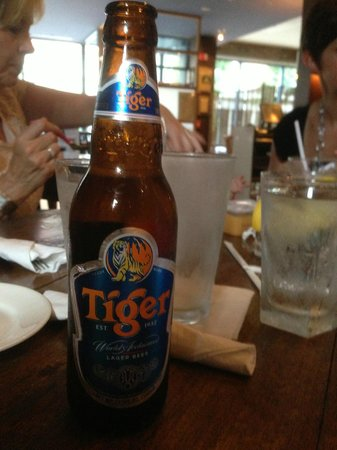 Bentara: Tiger Beer from Singapore