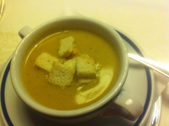 Hotel Condor: vegetable soup