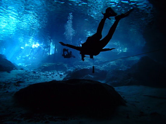 Diving Cenotes Tulum