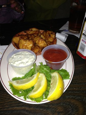 Thorn's Showcase Lounge: Large halibut bowl