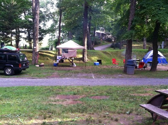 Kittatinny River Beach Campground : Great Times with Family camping