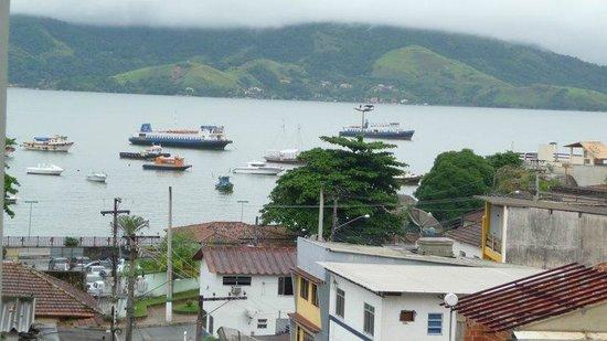 Hotel Mendonca: Baía de Mangaratiba.